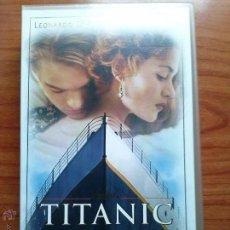 Cine: TITANIC-VHS. Lote 41606704