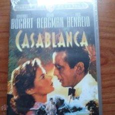 Cine: HUMPHREY BOGART.CASABLANCA-VHS. Lote 41606735