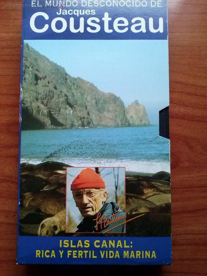 JACQUES COUSTEAU.ISLAS CANAL (Cine - Películas - VHS)