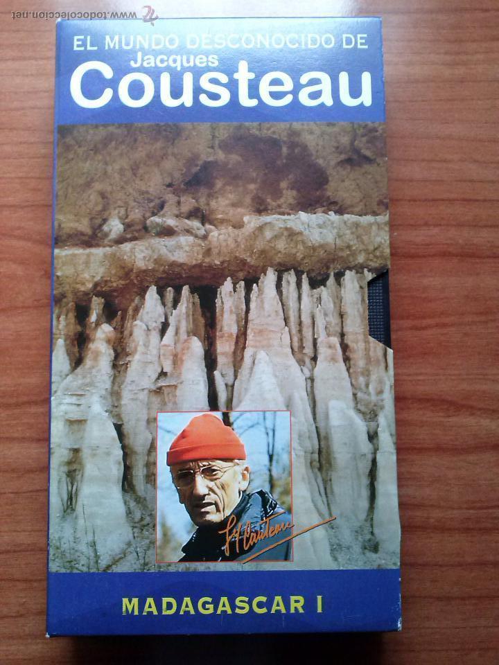 JACQUES COUSTEAU.MADAGASCAR I (Cine - Películas - VHS)