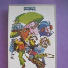 Cine: LA ISLA DEL TESORO. ORSON WELLES. ANDREW WHITE, 1972. VHS.. Lote 41752127