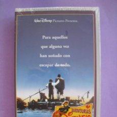 Cine: LAS AVENTURAS DE HUCKLEBERRY FINN. STEPHEN SOMMERS, 1993. VHS, PRECINTADA.. Lote 41752266