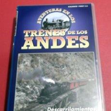 Cine: TRENES DE LOS ANDES CINTA VHS CON INFORMACIÓN MODELOS HISTORIA MODELISMO MAQUETAS TREN FERROCARRIL . Lote 41800473