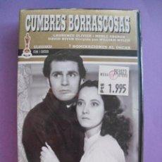 Cine: CUMBRES BORRASCOSAS. WILLIAN WYLER, 1939. VHS, PRECINTADA.. Lote 41913719