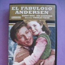 Cine: EL FABULOSO ANDERSEN. CHARLES VIDOR, 1952. VHS.. Lote 41913866