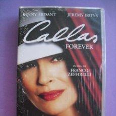 Cine: CALLAS FOREVER. FRANCO ZEFFIRELLI, 2002. VHS, PRECINTADA.. Lote 41914204