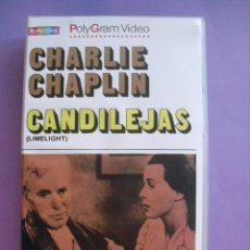 Cine: CANDILEJAS. CHARLIE CHAPLIN, 1952. VHS.. Lote 41914609