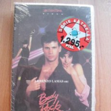 Cine: BODY ROCK. LORENZO LAMAS. MARCELO EPSTEIN, 1984. VHS, PRECINTADA.. Lote 41916952