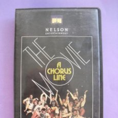 Cine: A CHORUS LINE THE MOVIE. MICHAEL DOUGLAS. 1985. VHS. Lote 41919107