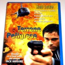 Cine: TERRENO PELIGROSO (1996) - ROB LOWE KENNETH CRANHAM DEBORAH MOORE VHS. Lote 41963172
