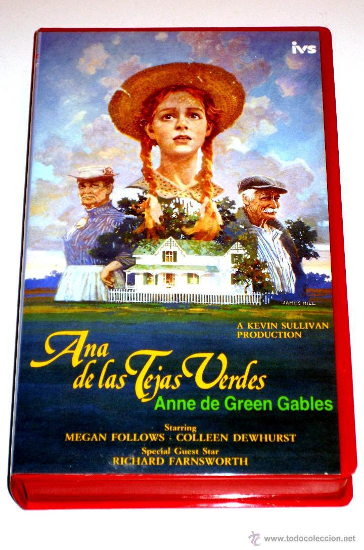 ANA DE LAS TEJAS VERDES (1985) - MEGAN FOLLOWS COLEEN DEWHURST RICHARD FARNSWORTH VHS INENCONTRABLE (Cine - Películas - VHS)