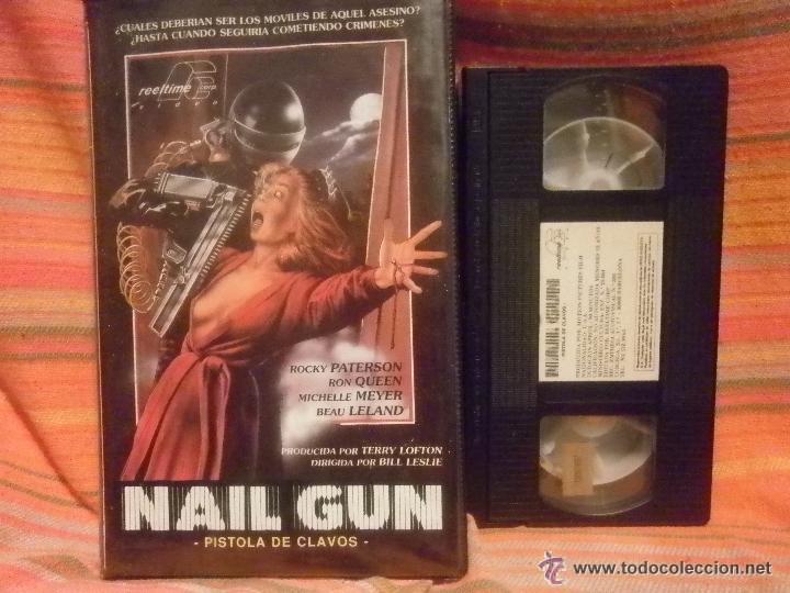 nail gun massacre --terror vhs- de terry lofton - Comprar Películas ...