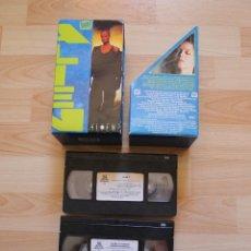 Cine: ALIEN TRILOGIA EN VHS ALIEN EL 8º PASAJERO ALIEN EL REGRESO VERSIÓN EXTENDIDA ALIEN 3. Lote 42069526