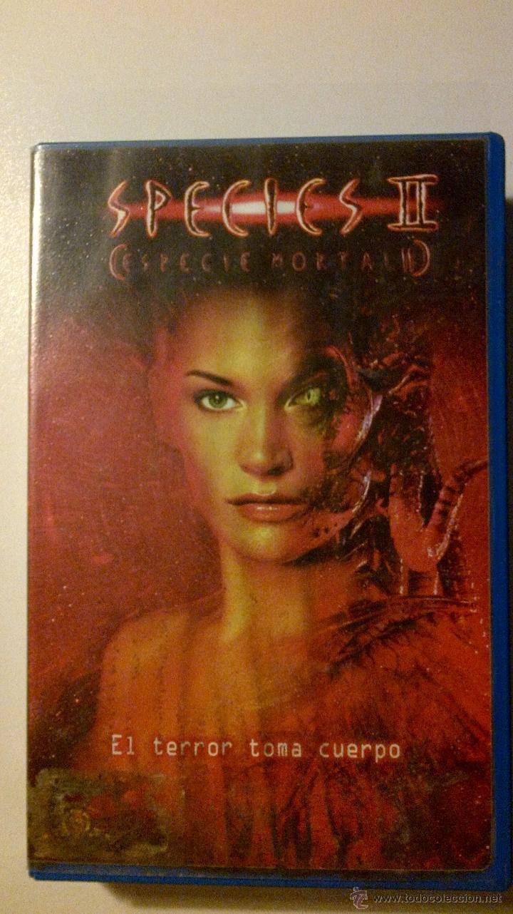 SPECIES II (ESPECIE MORTAL 2) VHS. EL TERROR TOMA CUERPO (Cine - Películas - VHS)