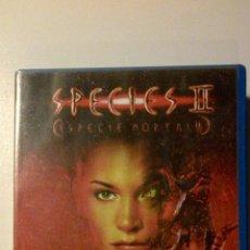 Cine: SPECIES II (ESPECIE MORTAL 2) VHS. EL TERROR TOMA CUERPO. Lote 42164712