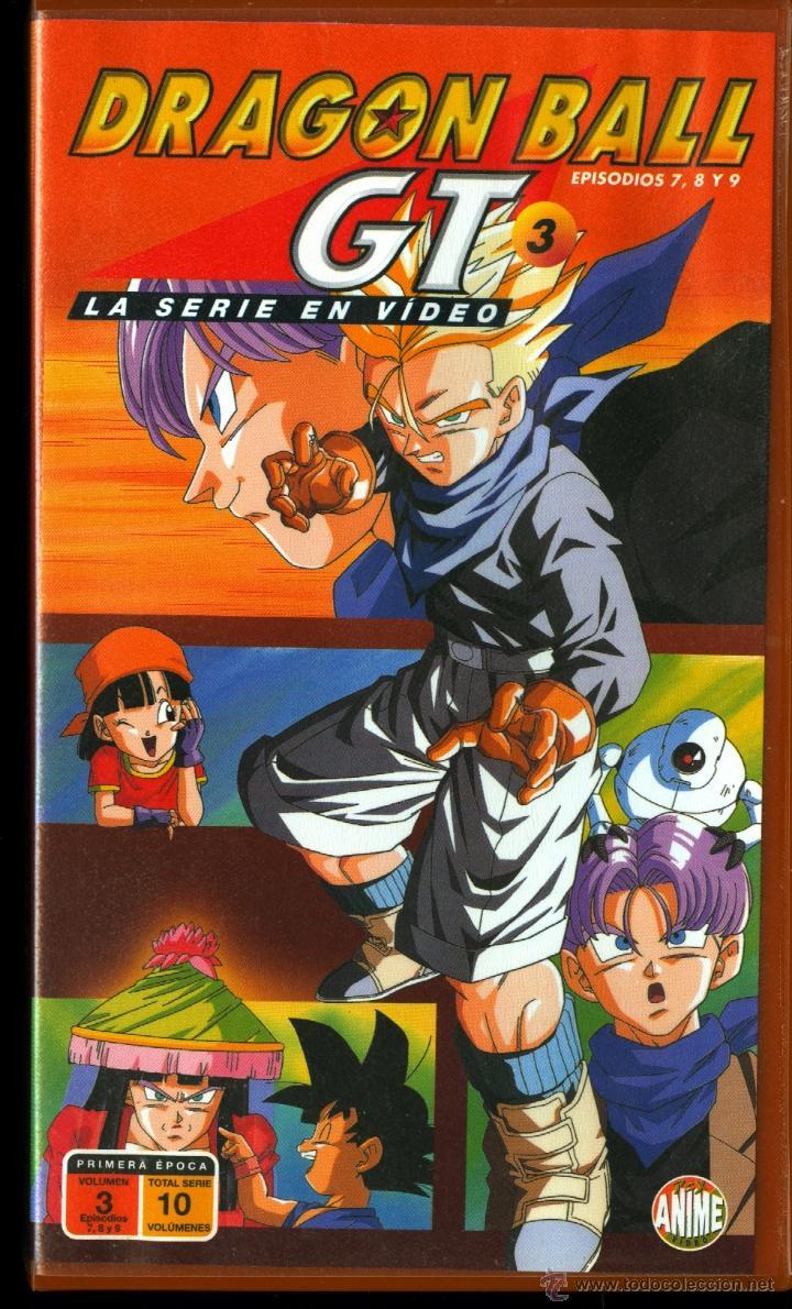 DRAGON BALL GT (EPISODIOS 7,8 Y 9) (Cine - Películas - VHS)