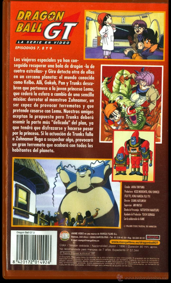 Cine: DRAGON BALL GT (EPISODIOS 7,8 Y 9) - Foto 2 - 42169678