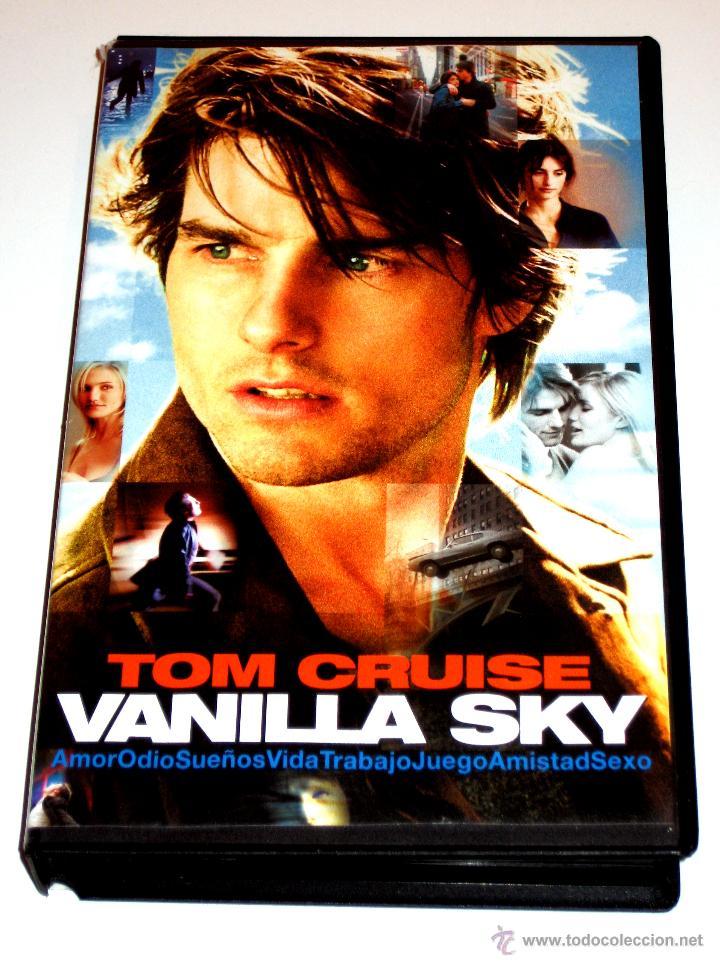 Vanilla Sky 2001 Cameron Crowe Tom Cruise P Buy Vhs Movies At Todocoleccion 42188097