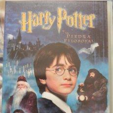 Cine: VENDO VHS (HARRY POTTER Y LA PIEDRA FILOSOFAL).. Lote 57629175