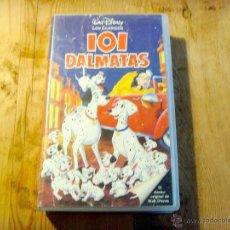 Cine: PELÍCULA VHS 101 DÁLMATAS - WALT DISNEY. Lote 42234928