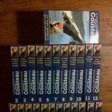 Cine: EL MUNDO DESCONOCIDO JACQUES COUSTEAU COLECCION 36 VHS. Lote 42334368