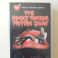 Cine: VHS THE ROCKY HORROR PICTURE SHOW. Lote 42343861