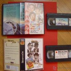 Cine: 2 VIDEOS VHS: LOS CHICOS CON LAS CHICAS - HABÍA UNA VEZ UN CIRCO (CINE ESPAÑOL) ¡ORIGINALES!. Lote 42691317
