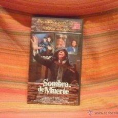 Cine: SOMBRA DE MUERTE--TERROR VHS. Lote 42896839