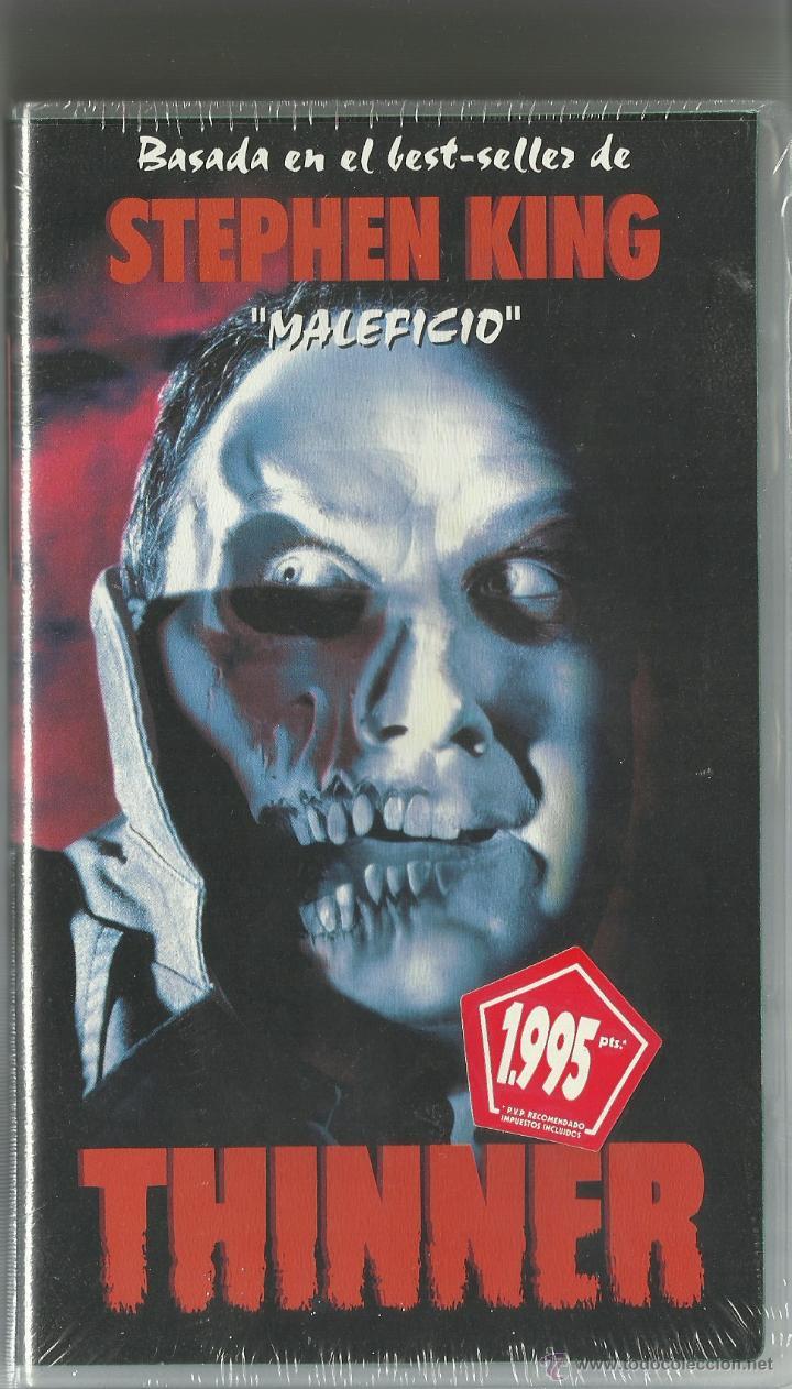 THINNER MALEFICIO DE STEPHEN KING, PRECINTADA, VHS... (Cine - Películas - VHS)