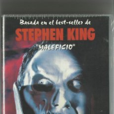 Cine: THINNER MALEFICIO DE STEPHEN KING, PRECINTADA, VHS.... Lote 42918490