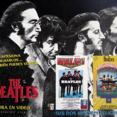 Cine: VHS PACK 2 CINTAS - THE BEATLES - HELP Y MAGICAL MISTERY TOUR. Lote 42975897