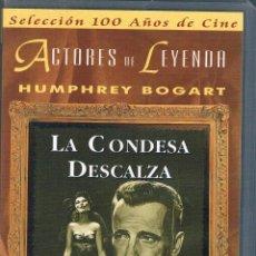 Cine: VHS LA CONDESA DESCALZA HUMPHREY BOGART AVA GARDNER. Lote 43014121