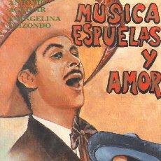 Cine: CINE CANDY - VHS - MUSICA ESPUELAS Y AMOR - ANTONIO AGUILAR - EVANGELINA ELIZONDO *UU99. Lote 43040239