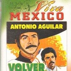 Cine: CINE CANDY - VHS - VOLVER VOLVER - ANTONIO AGUILAR - JORGE RIVERA - CLAUDIA ISLAS *UU99. Lote 43041294