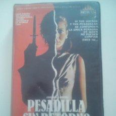 Cine - VHS PESADILLA SIN RETORNO - TERROR CULT! - 43043138
