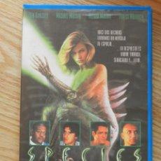 Cine: VHS SPECIES ESPECIE MORTAL. Lote 43060774
