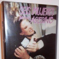 Cine: SEIS MUJERES PARA UN ASESINO VHS - GRAN GIALLO CLASICO SESENTERO DE MARIO BAVA ¡¡REBAJADA UN 50%!!. Lote 43083938