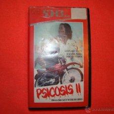 Cine: VHS - PSICOSIS II. RAREZA. Lote 43228774