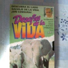 Cine: DESAFÍOS DE LA VIDA VHS-VÍDEO INFORMATIVO.CLUB INTERNACIONAL DEL LIBRO-BBC. Lote 43489813