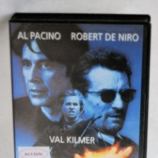 Cinéma: HEAT EN VHS. Lote 43651619