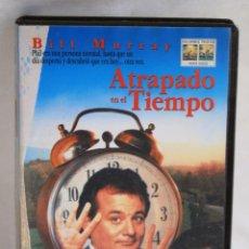 Cine: ATRAPADO EN EL TIEMPO EN VHS BILL MURRAY HAROLD RAMIS. Lote 43652180