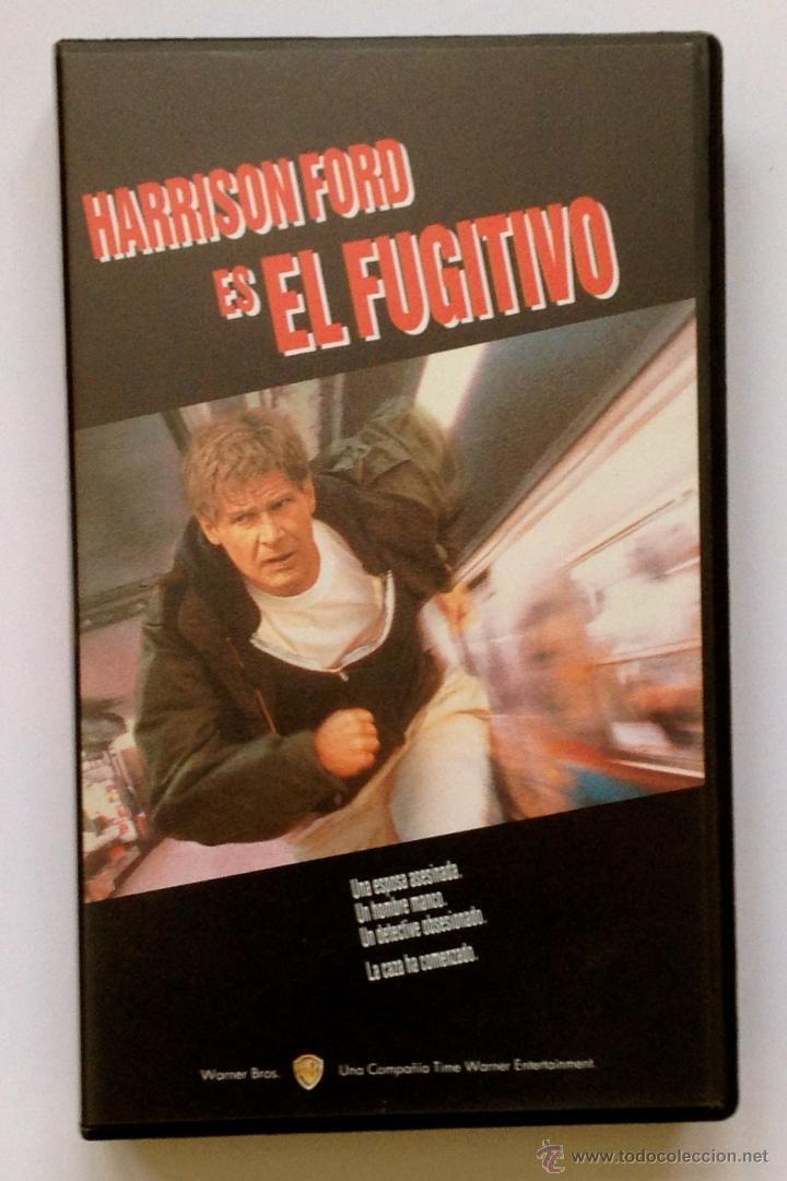 EL FUGITIVO. HARRISON FORD. VHS. (Cine - Películas - VHS)