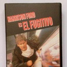 Cine: EL FUGITIVO. HARRISON FORD. VHS.. Lote 43747665