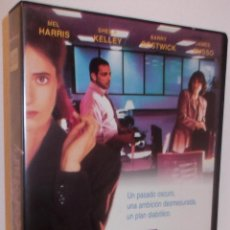 Cine: THE SECRETARY VHS - THRILLER DE SERIE B CON SECRETARIA PSICOPATA AL ACECHO ¡¡AL 50%!!. Lote 44043274
