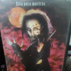 Cine: MORTAL ZOMBIE -- VHS--CASQUERIA FINA POR BRIAN YUZNA. Lote 44263169