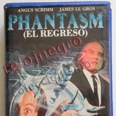 Cine: PHANTASM EL REGRESO PELÍCULA TERROR SUSPENSE FANTASMA DON COSCARELLI - CLÁSICO DIFÍCIL CONSEGUIR VHS. Lote 44459124