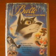 Cine: BALTO, LA LEYENDA DEL PERRO ESQUIMAL VHS SIMON WELLS, 1995. Lote 44515255