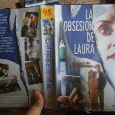 Cine: LA OBSESION DE LAURA-VHS. Lote 44560521