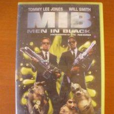 Cine: VHS - MIB - MEN IN BLACK - HOMBRES DE NEGRO. Lote 44562679