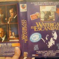 Cine: WATERGATE EL ESCANDALO -VHS. Lote 44563601